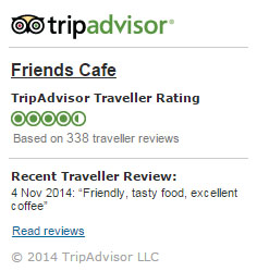 tripadvisor friends cafe